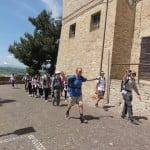 Thirsty walkers reach Montelparo