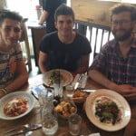 From left: Matteo Salvi, Emanuele Nini and Teddy Keen